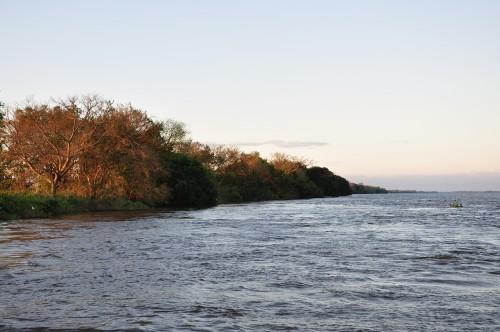 Dorados en Reconquista - Estado del río